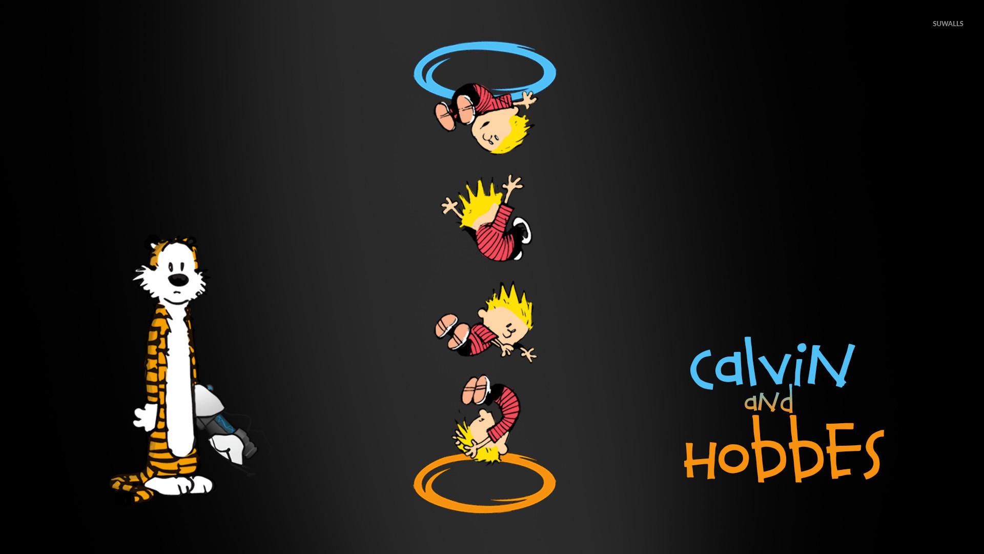Portal Hobbes Portals Calvin And Hobbes Portal Hobbes Ohhh Portal 1920x1080