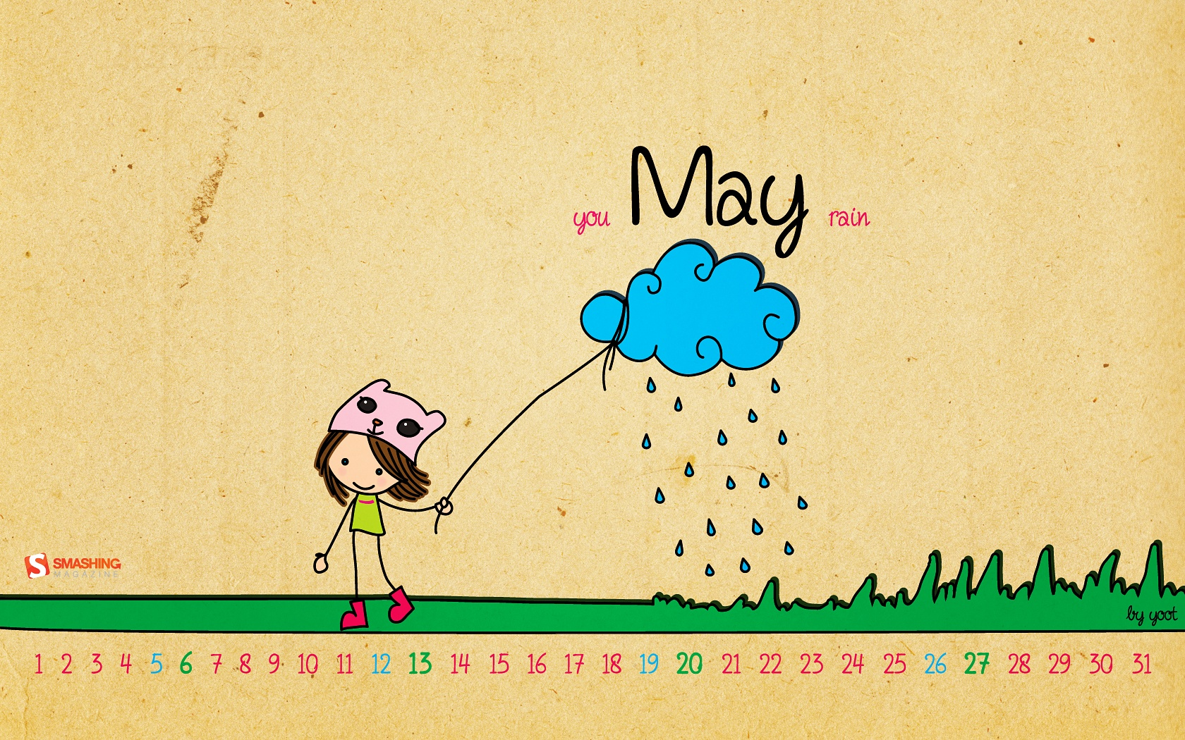 Desktop Wallpaper Calendars: May 2012 – Smashing Magazine