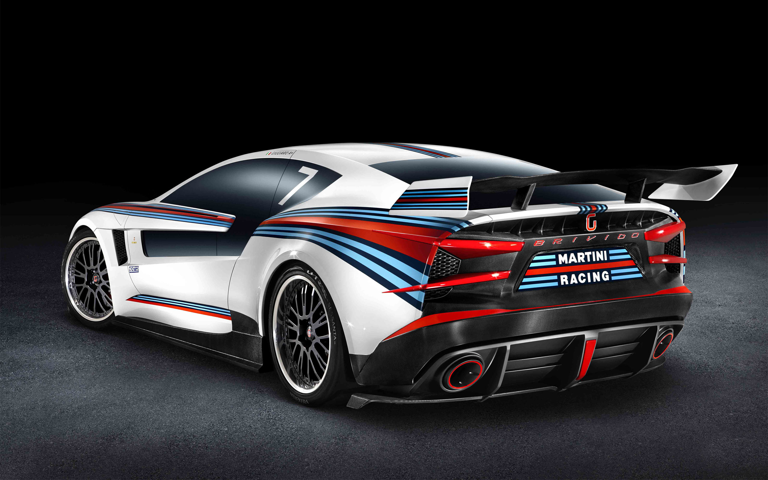 Italdesign Brivido Martini Racing 2 Wallpaper HD Car Wallpapers 2560x1600