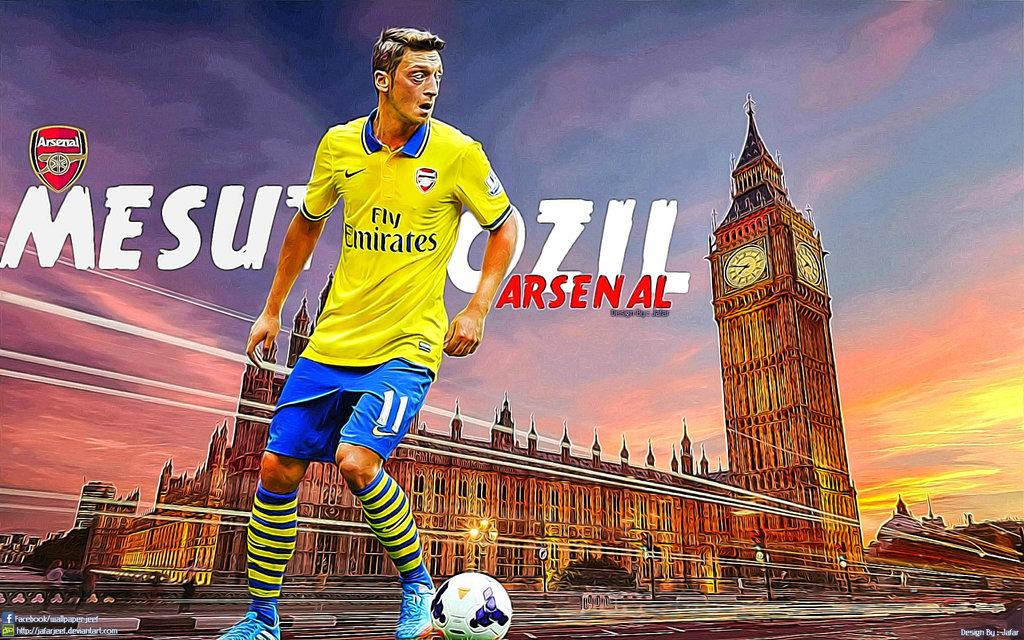 Ozil   Arsenal Wallpaper 35904640 1024x640