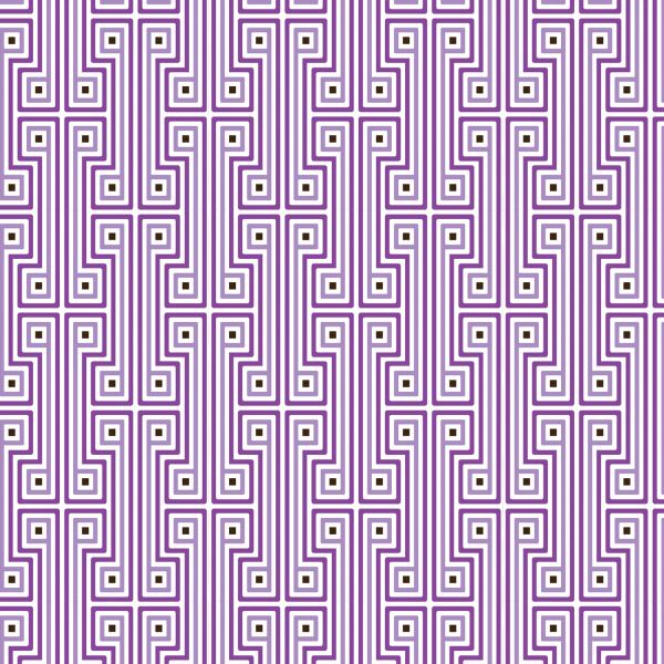 Purple geometric wallpaper from Jonathan Adler 600x600