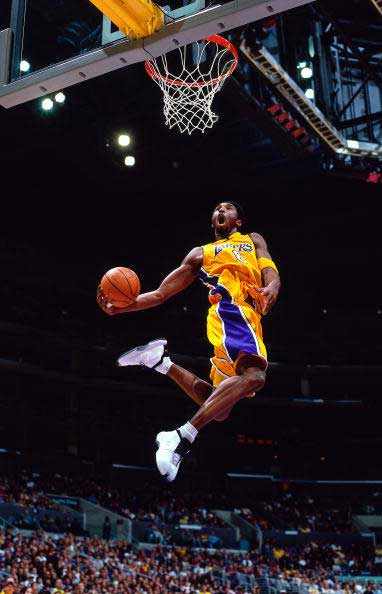 Kobe Bryant Dunk The Art Mad Wallpapers 382x594