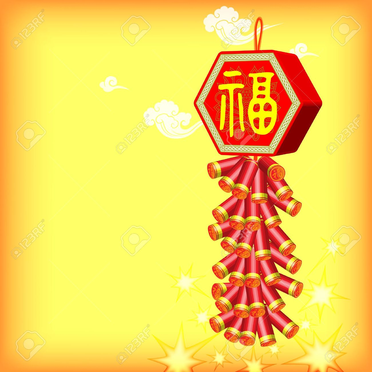 Vector 2014 Chinese New Year Greetings Background Auto 1300x1300
