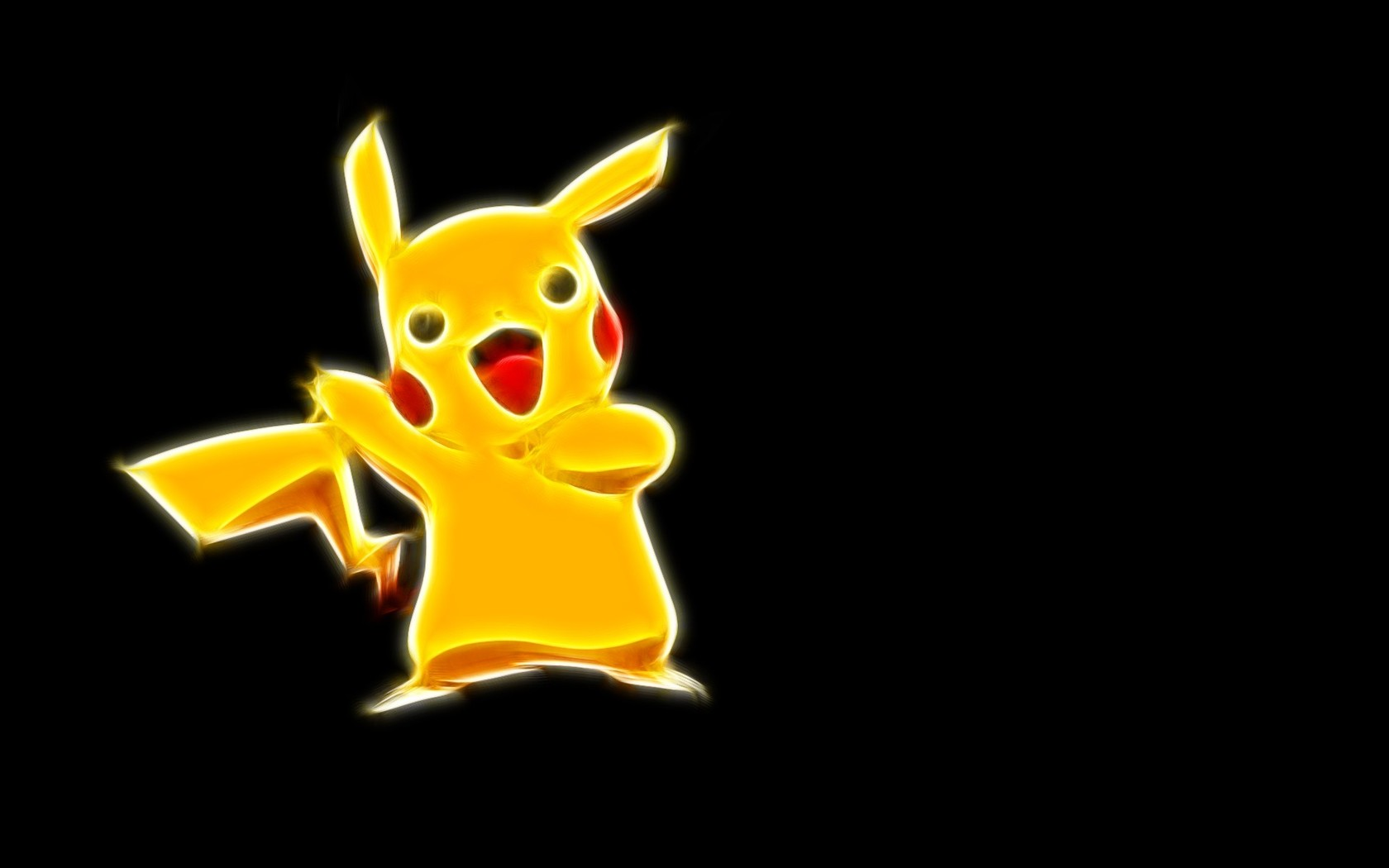 Pikachu   Pokemon wallpaper 4610 1680x1050
