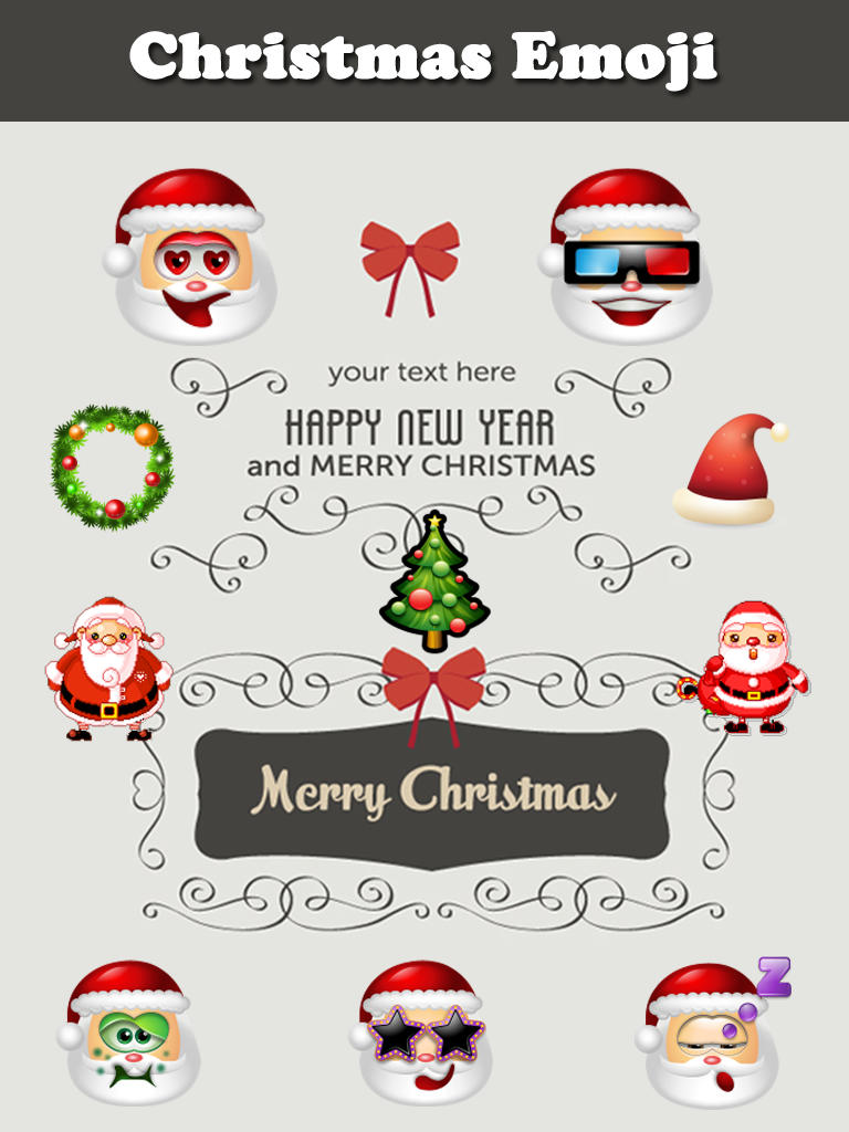 Free Download App Shopper Christmas Emoji Animated Emoticon