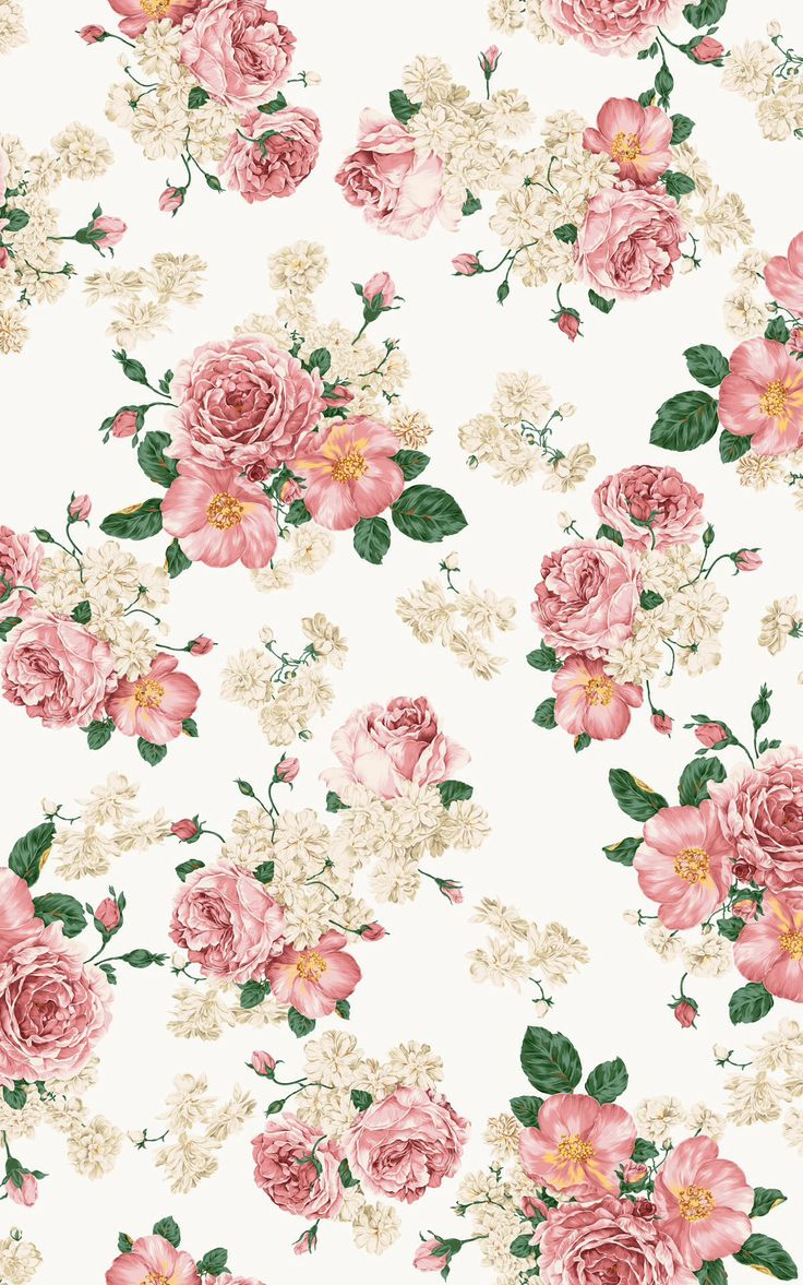 Free Download Home Screen Wallpaper Vintage Floral