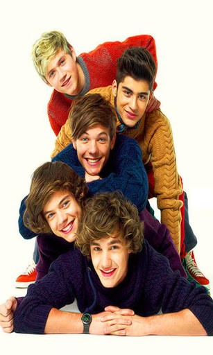 One Direction live 3D wallpapers show 3D cube pictures as Live 307x512