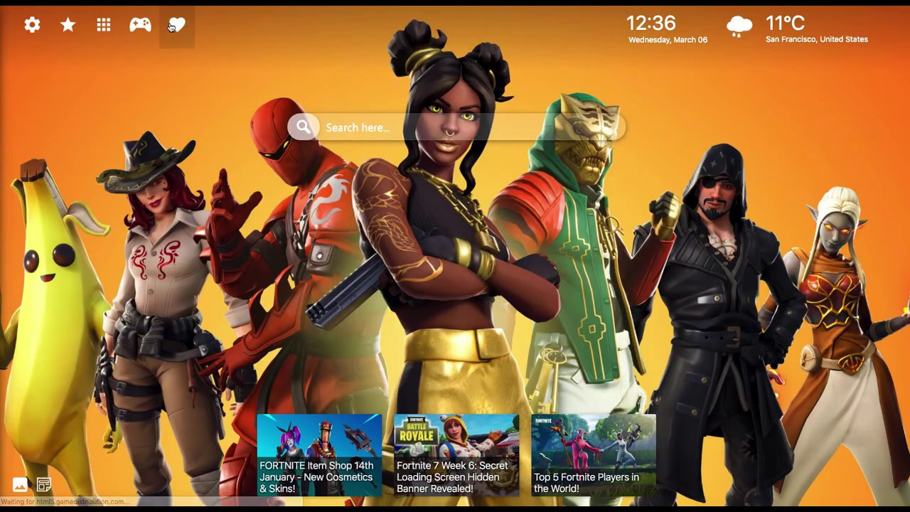 Luxe Fortnite Skin   Best Wallpapers for your Chrome 1280x720