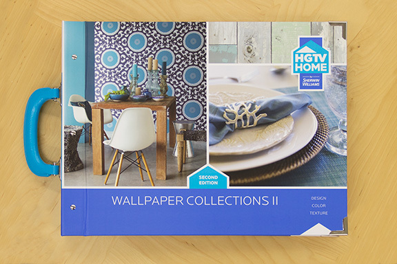 HGTV Home Wallpaper Collections II by Sherwin Williams] 576x384