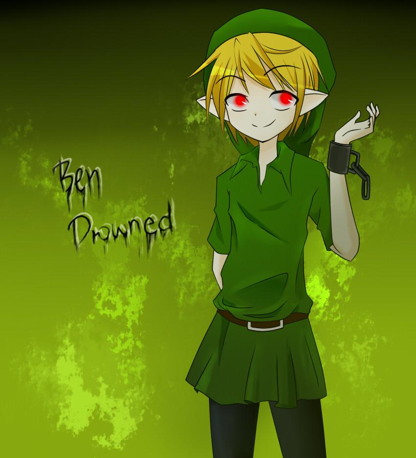 Ben Drowned creepypasta by ShinDeizu760 850x935