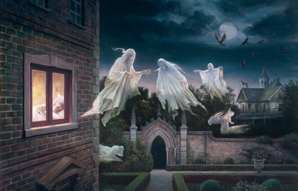 of halloween why not try out one of these ghost desktop backgrounds 1024x658