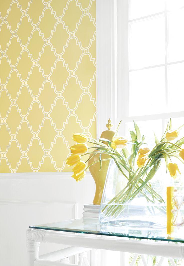Trellis Wallpaper 736x1062