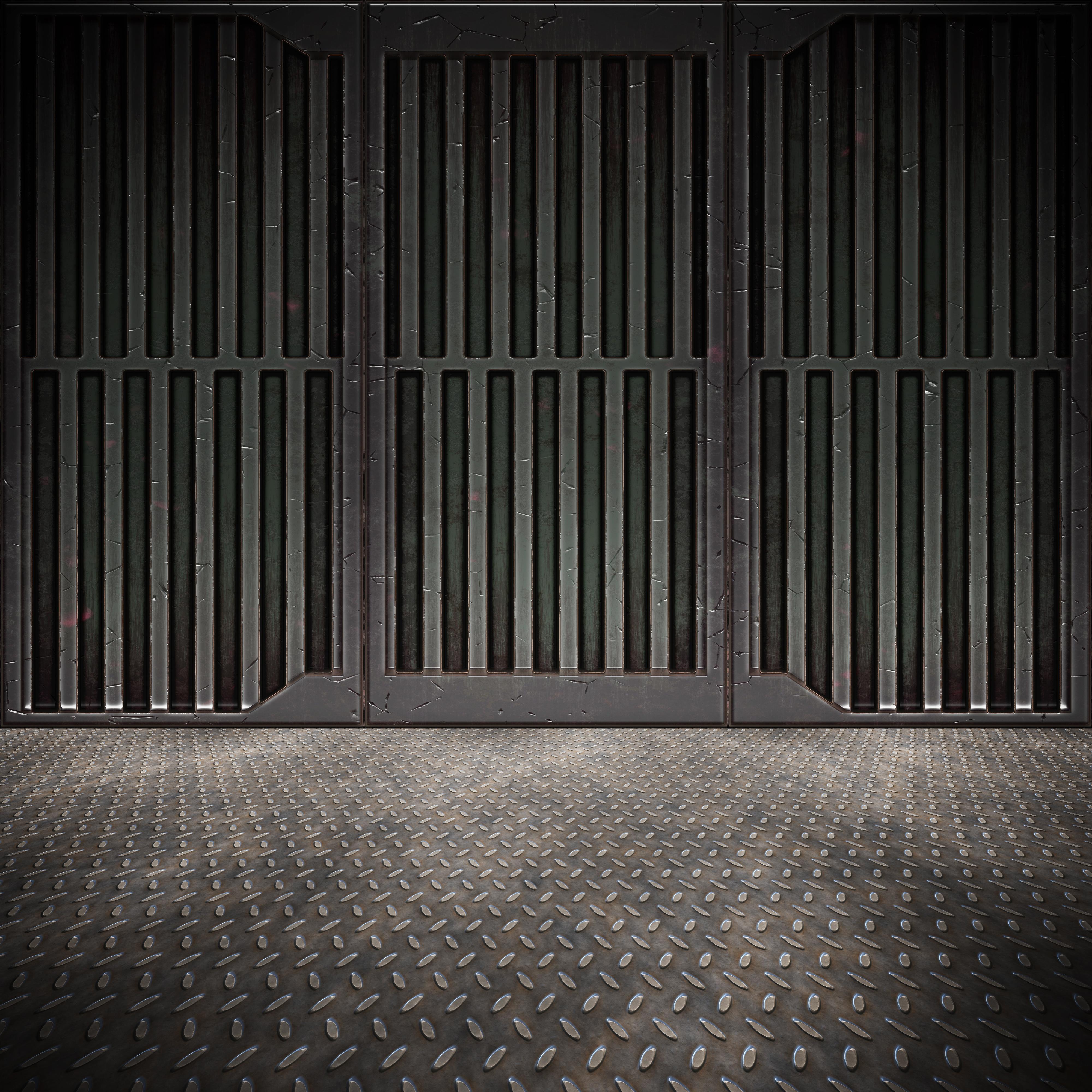 Steel Floor Background 5 by bouzid27 4000x4000