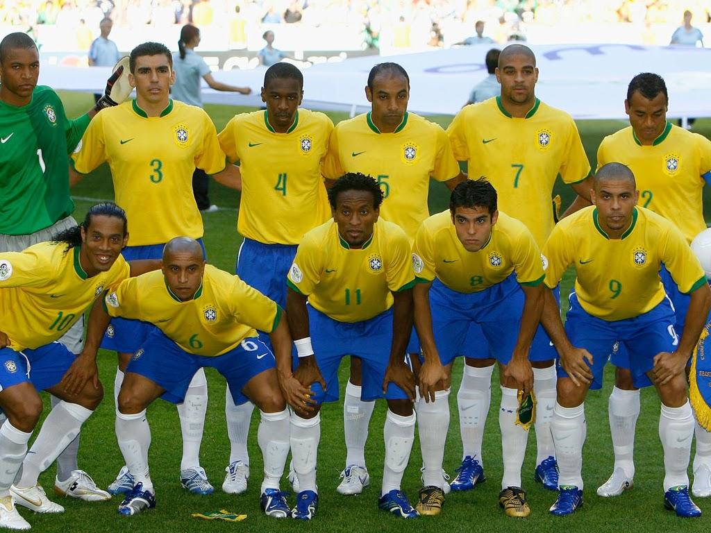 Brazil Football Team HD Wallpapers FIFA World Cup 2014 Wallpaper 1024x768