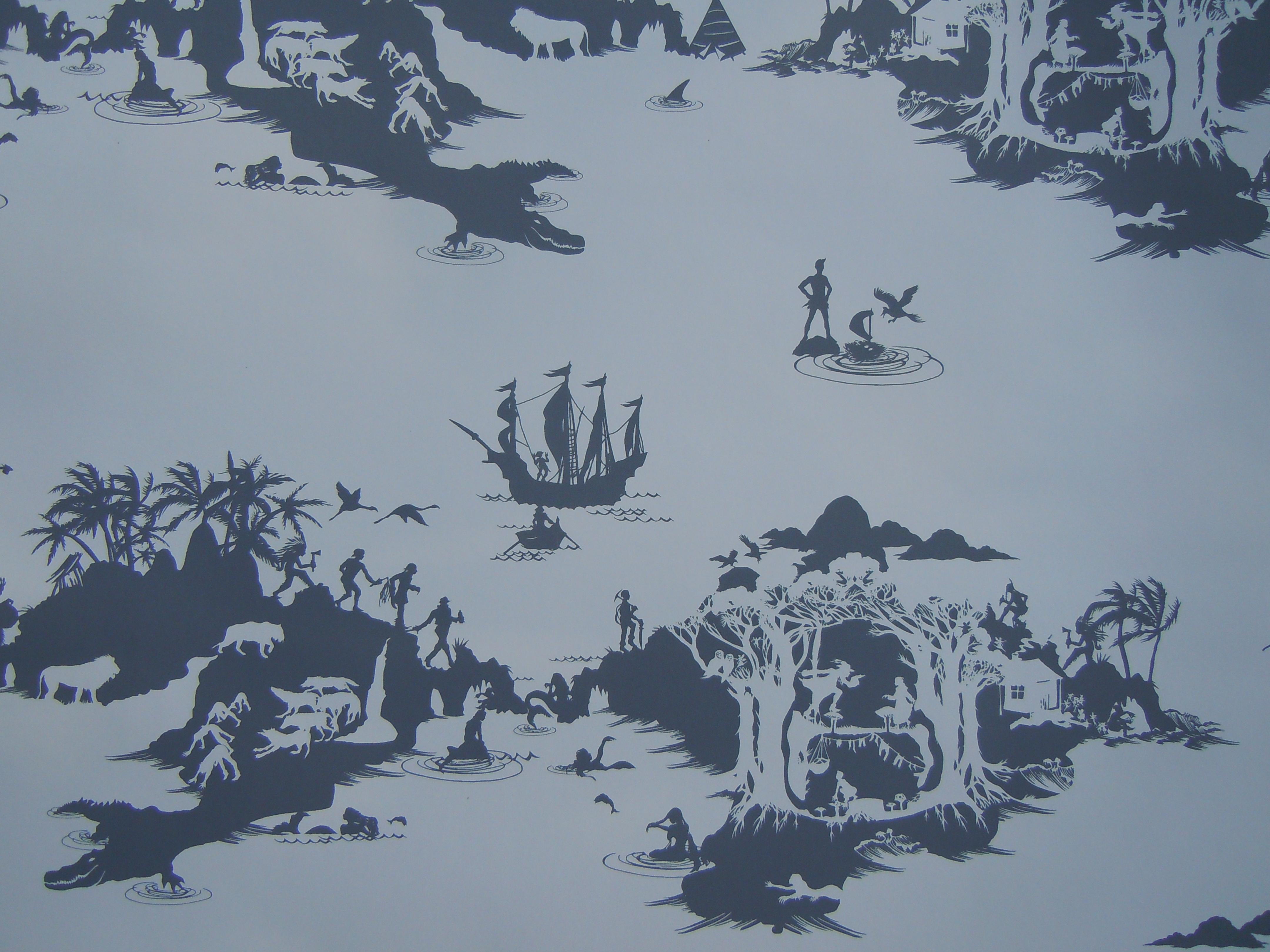 peter pan wallpaper murals wallpapersafari