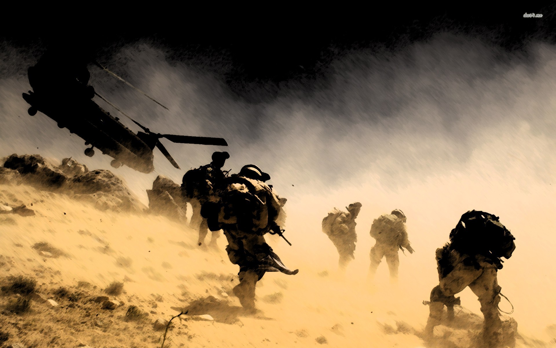 Soldiers in Fight Military Wallpapers 1920x1200