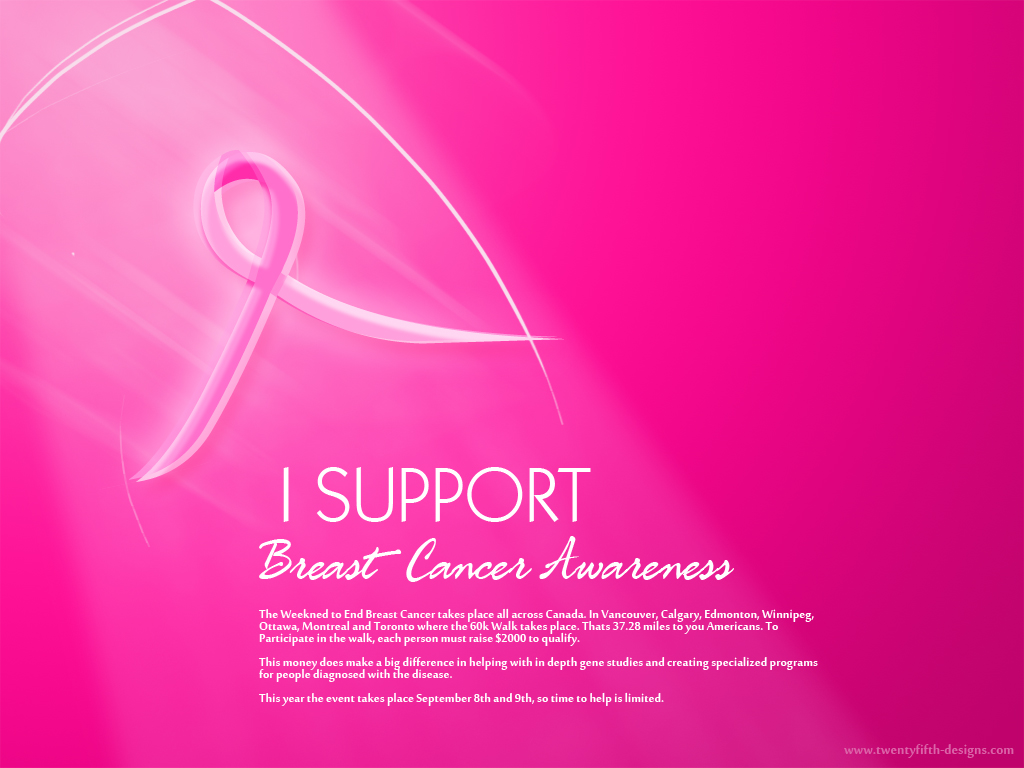 Breast Cancer Awareness Desktop Wallpaper 1024x768