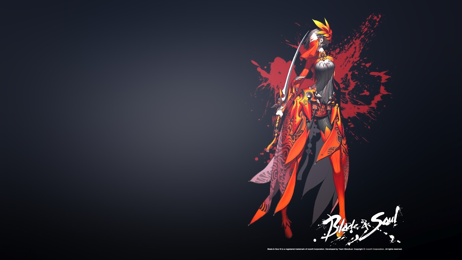 Just Walls Blade and Soul Wallpaper 1600x900