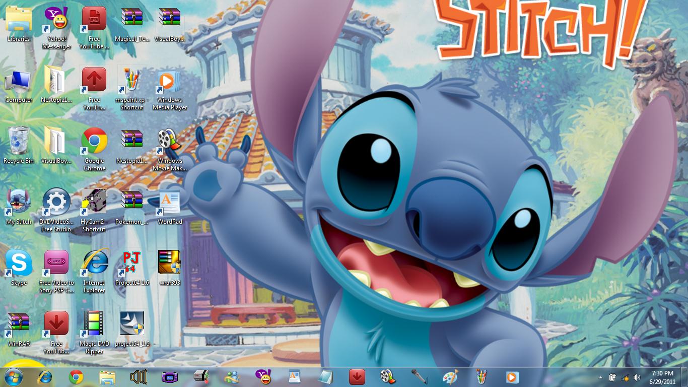 50 Lilo And Stitch Wallpaper Desktop On Wallpapersafari