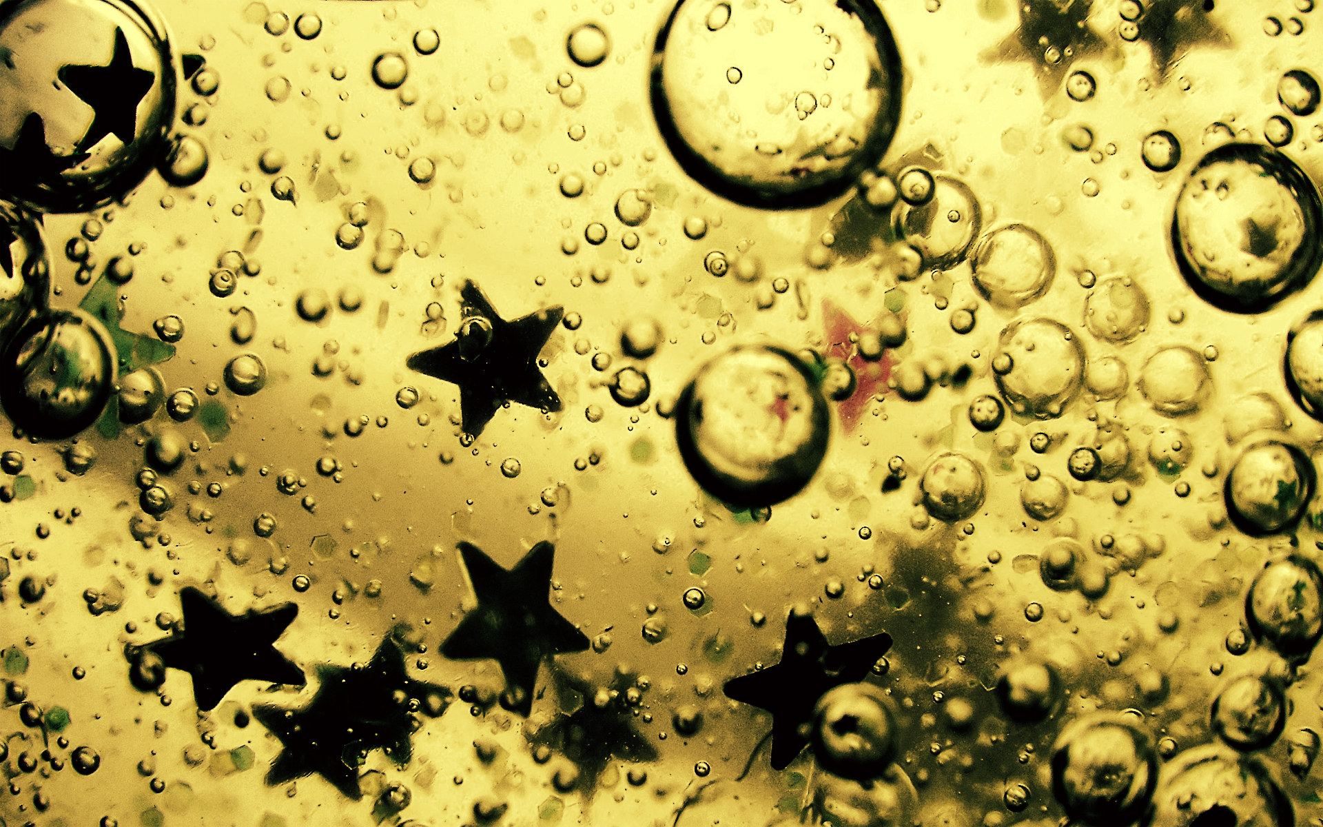 Theme Bin Blog Archive Oil Water and Stars HD Wallpaper 1920x1200