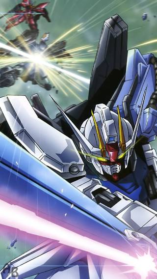 Gundam 004 Anime   iPhone Wallpaper 320x568