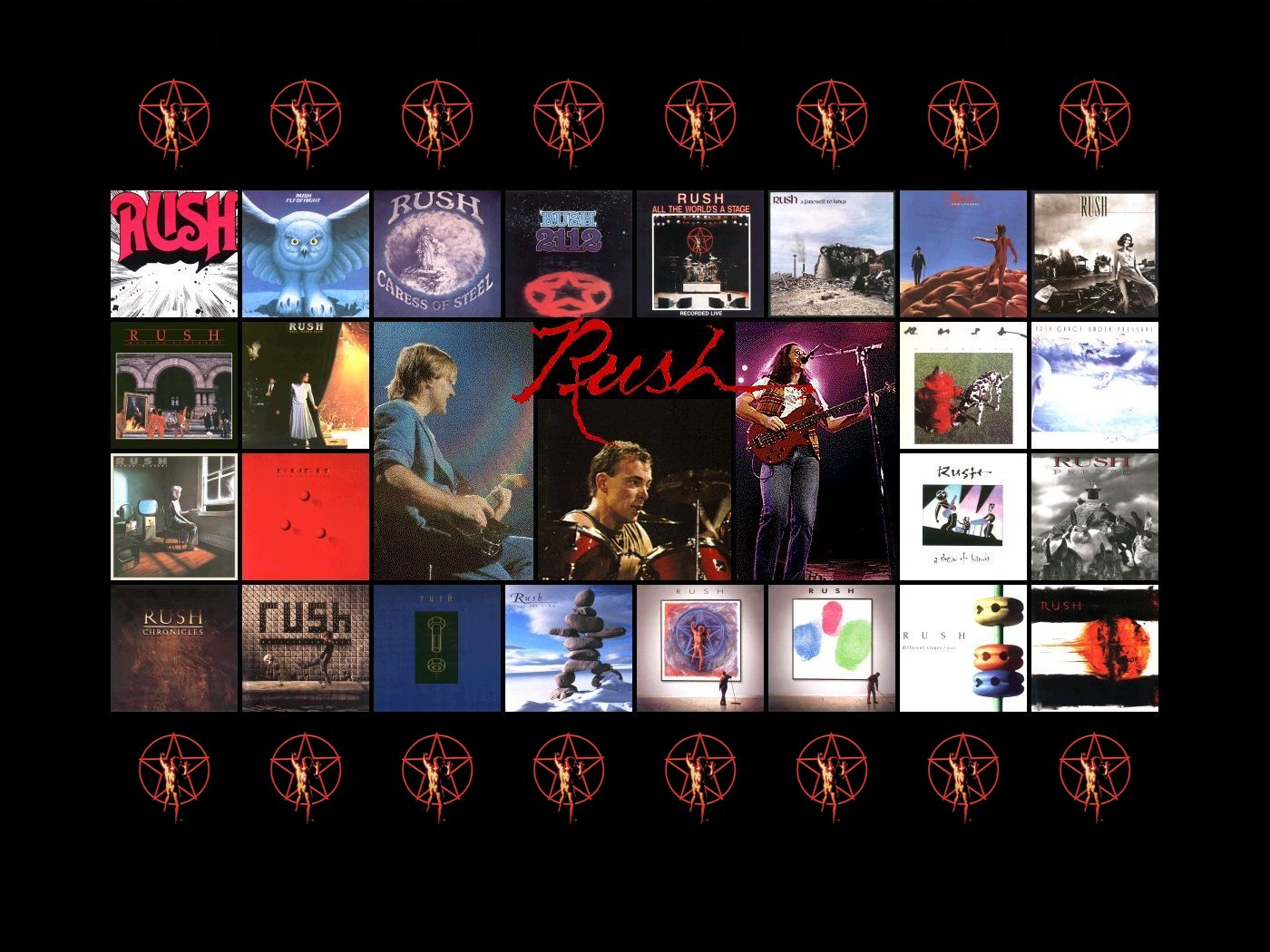 Rush The Band 1920x1200 Wallpapers 1400x1050