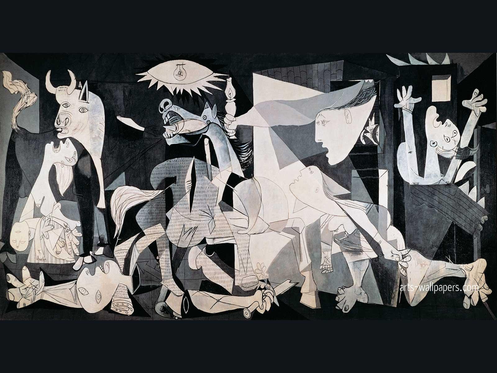 Guernica Art Guernica Wallpaper Guernica Art Print Poster Painting 1600x1200