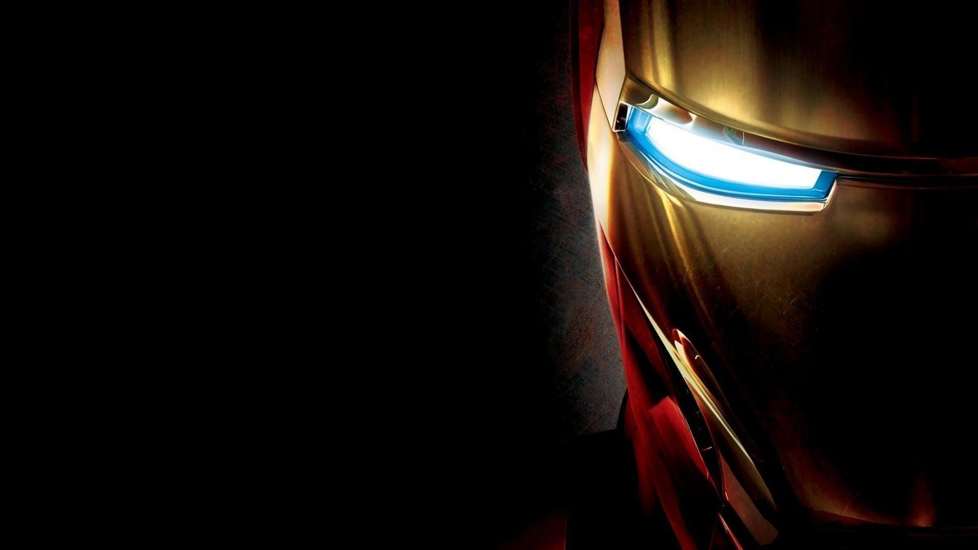Iron Man simple Face Full HD Desktop Wallpapers 1080p 1920x1080