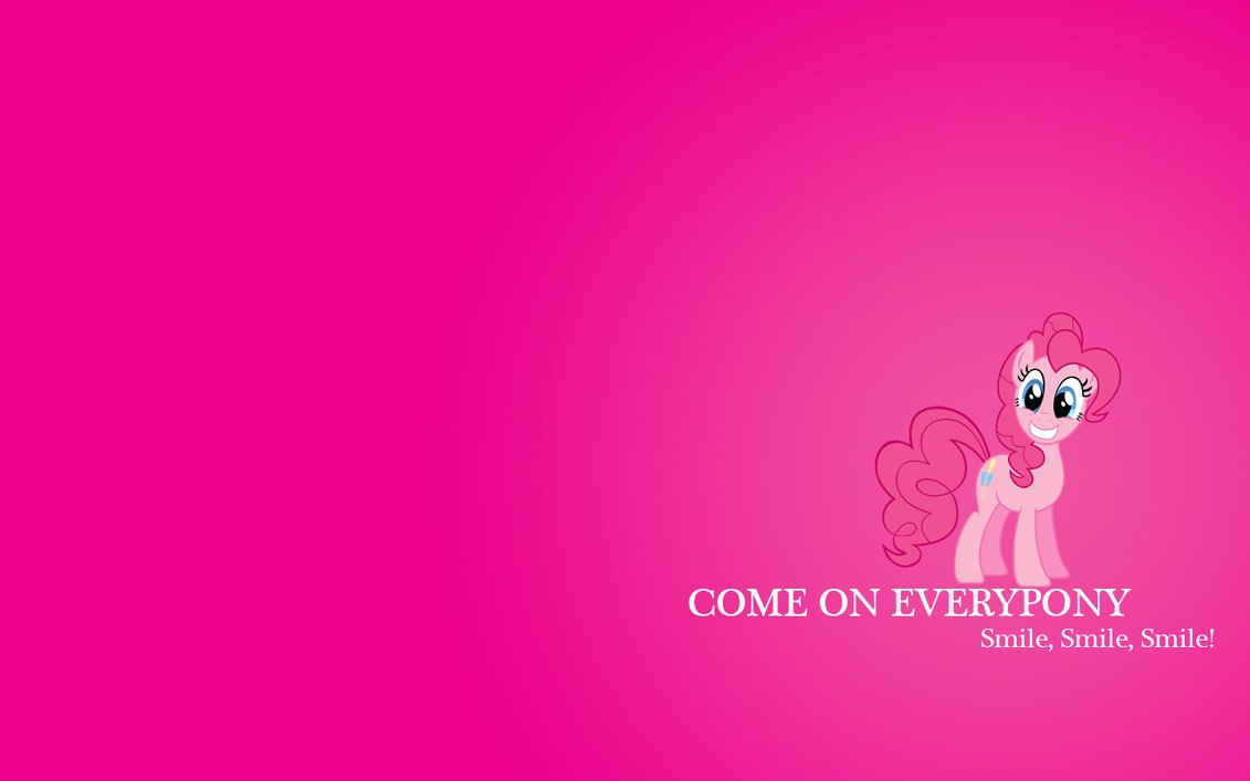 Pinkie Pie Smile Wallpaper More like this 5 comments 1131x707