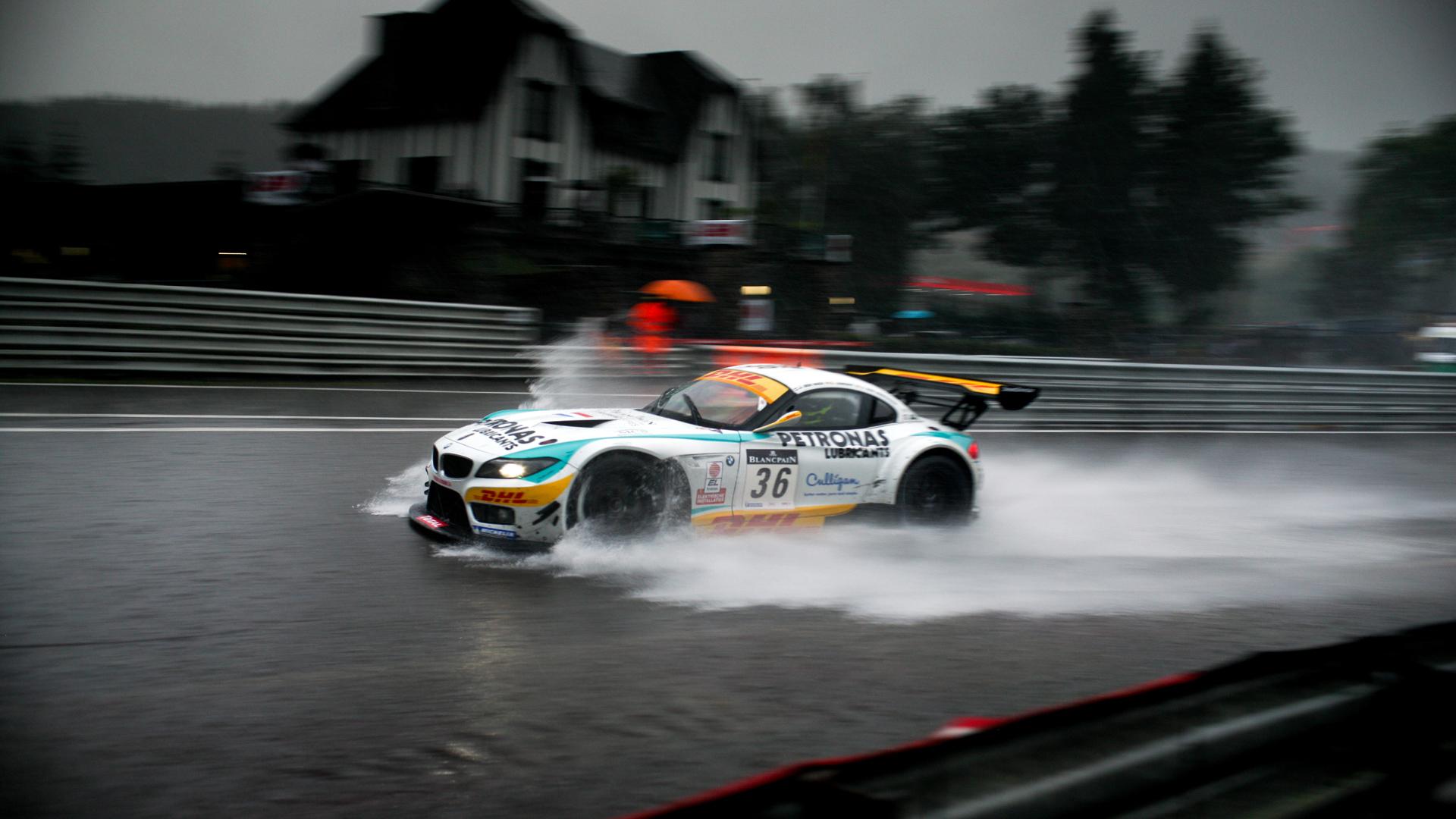 BMW Rain Race Wallpaper HD Car Wallpapers 1920x1080