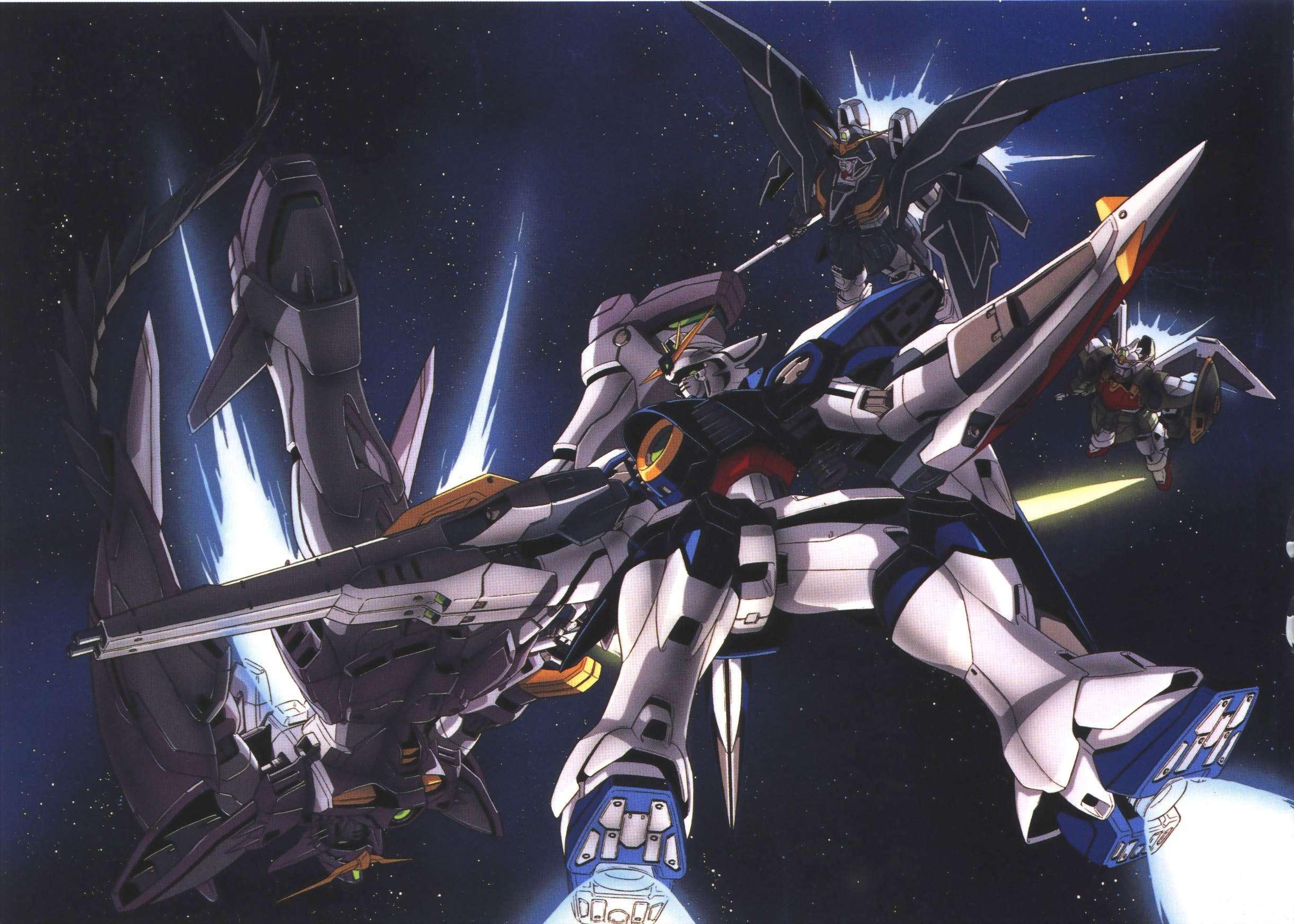 Gundam Wing Wallpaper 2442x1744 Gundam Wing 2442x1744