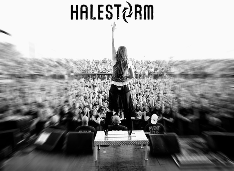 DeviantArt More Artists Like Halestorm Wallpaper by ais541890 819x600
