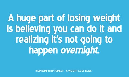 Quotes About Weight Loss Motivation 500x300