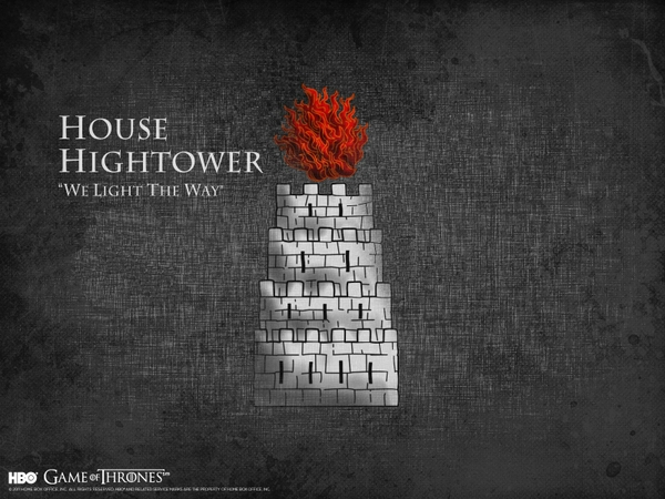 song of ice and fire house tv series hbo house hightower Wallpaper 600x450