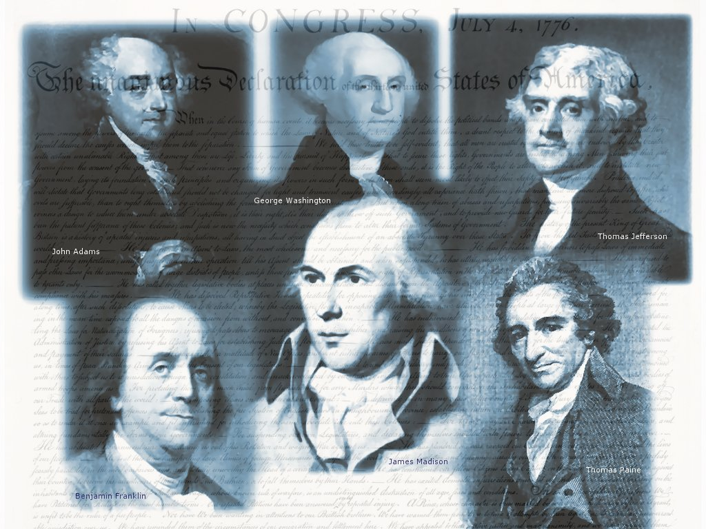 Gallery For gt Founding Fathers Wallpaper 1024x768