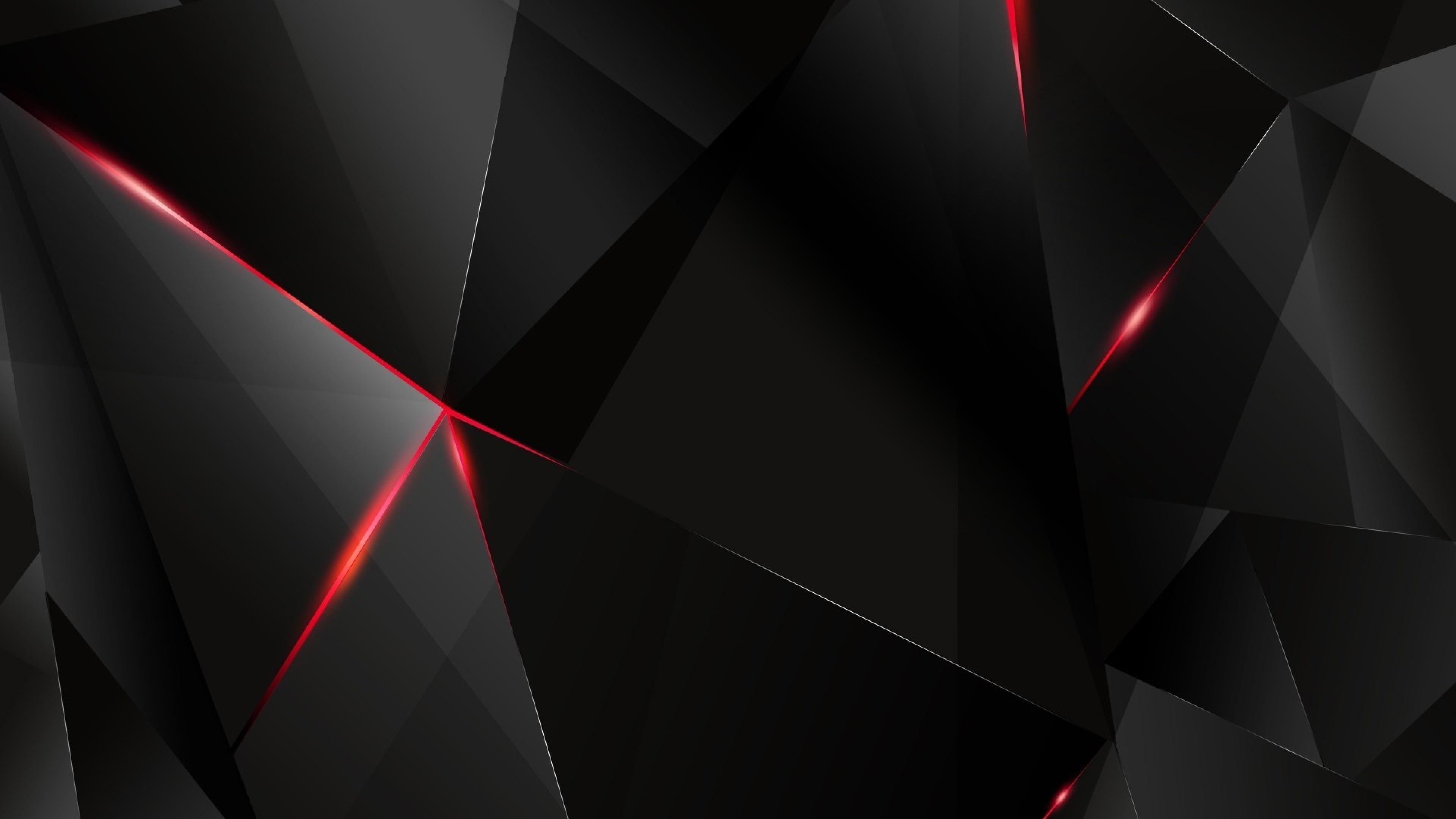 Download Wallpaper 3840x2160 Black Light Dark Figures 4K Ultra 3840x2160
