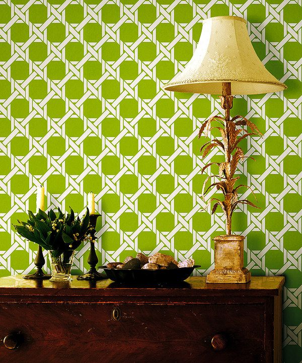 Look at this zulilyfind Light Green Lattice Trellis Wallpaper by 600x721
