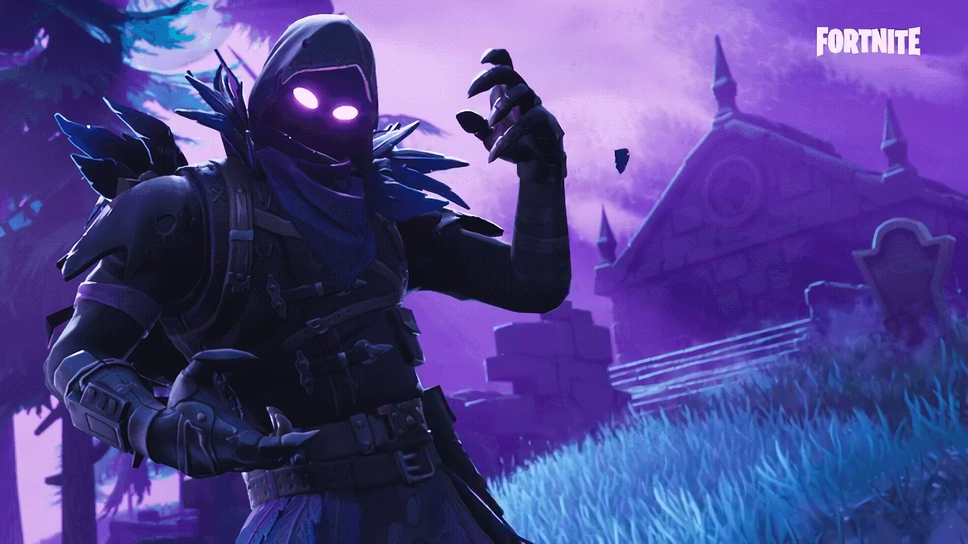 Raven Fortnite Battle Royale Video Game 3840x2160 Wallpaper 3840x2160