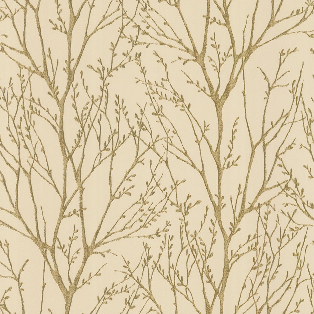 Love Wallpaper Shimmer Wallpaper Metallic Gold Cream ILW980005 1000x1000