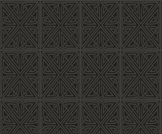 Art Nouveau Viva Black Wallpaper Deco Weddings 520x431