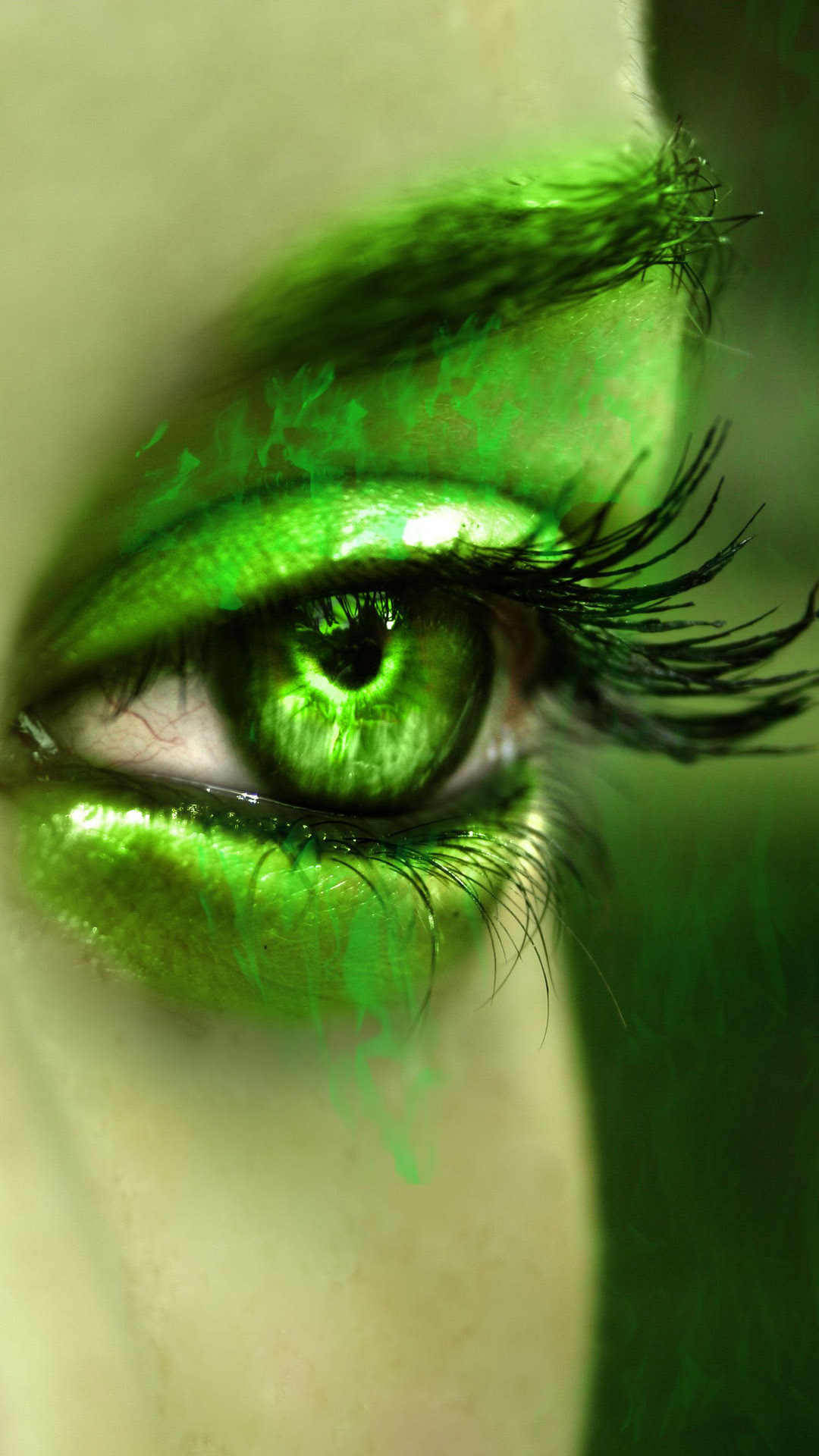 70 Green Eyes Wallpaper On Wallpapersafari