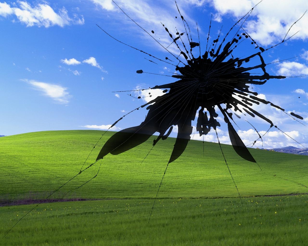Soft Broken Windows Xp Screen Bliss Wallpaper Is Suitable wallpaper 1280x1024