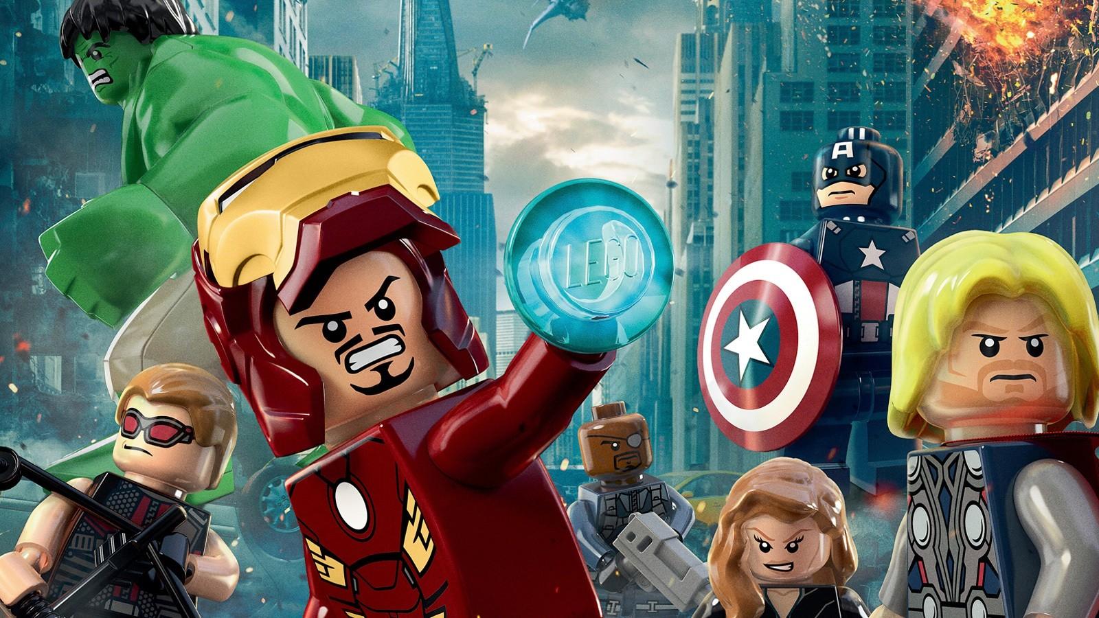 38 Lego Avengers Wallpaper Hd On Wallpapersafari
