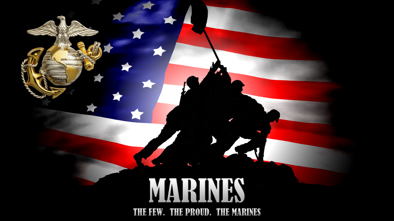 Marines Background by VizionStudios 1280x720