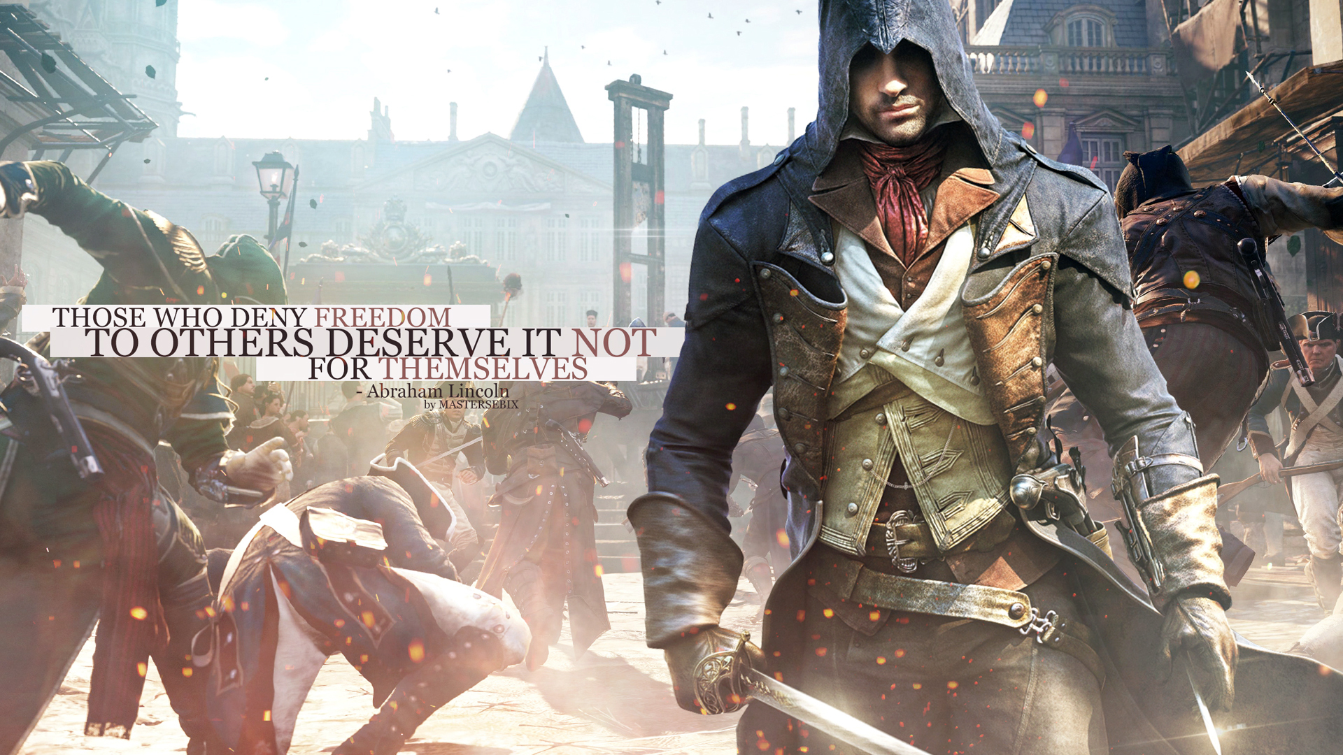 47 Assassin S Creed Unity Wallpaper 1920x1080 On Wallpapersafari