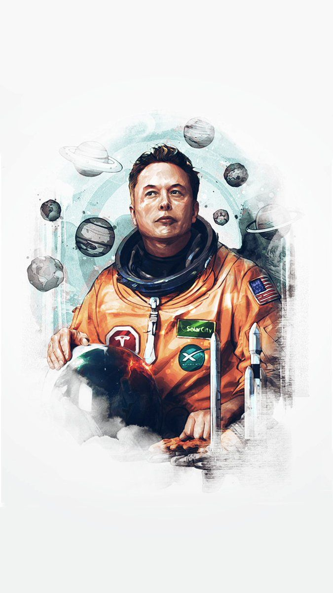 Image result for elon musk phone wallpaper wallpaper Duvar 675x1200