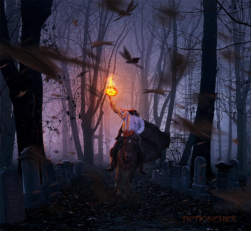 Sleepy Hollow Halloween: Legend Of Sleepy Hollow Wallpaper