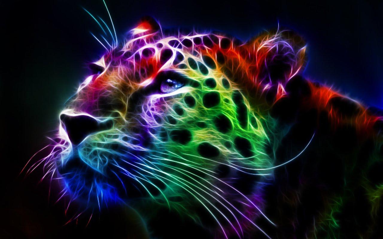Fractal Leopard hd desktop backgrounds Full HD Wallpapers Points 1280x800