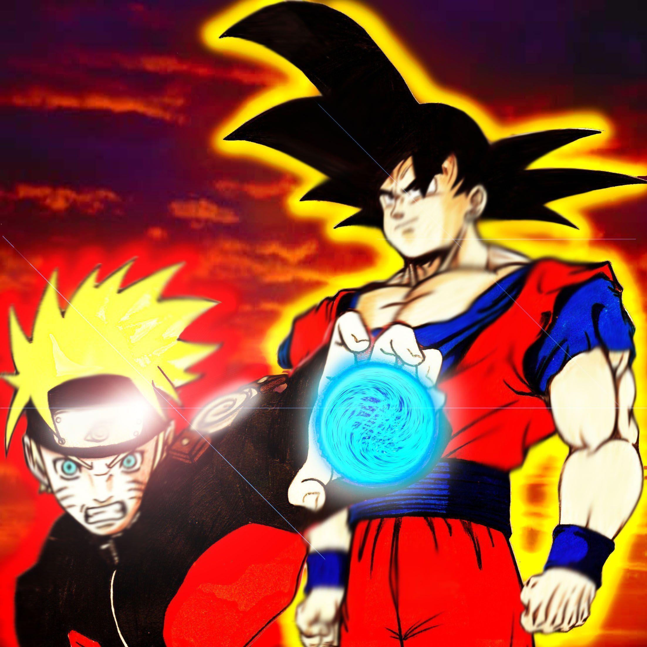 Goku And Naruto Wallpapers 2205x2205