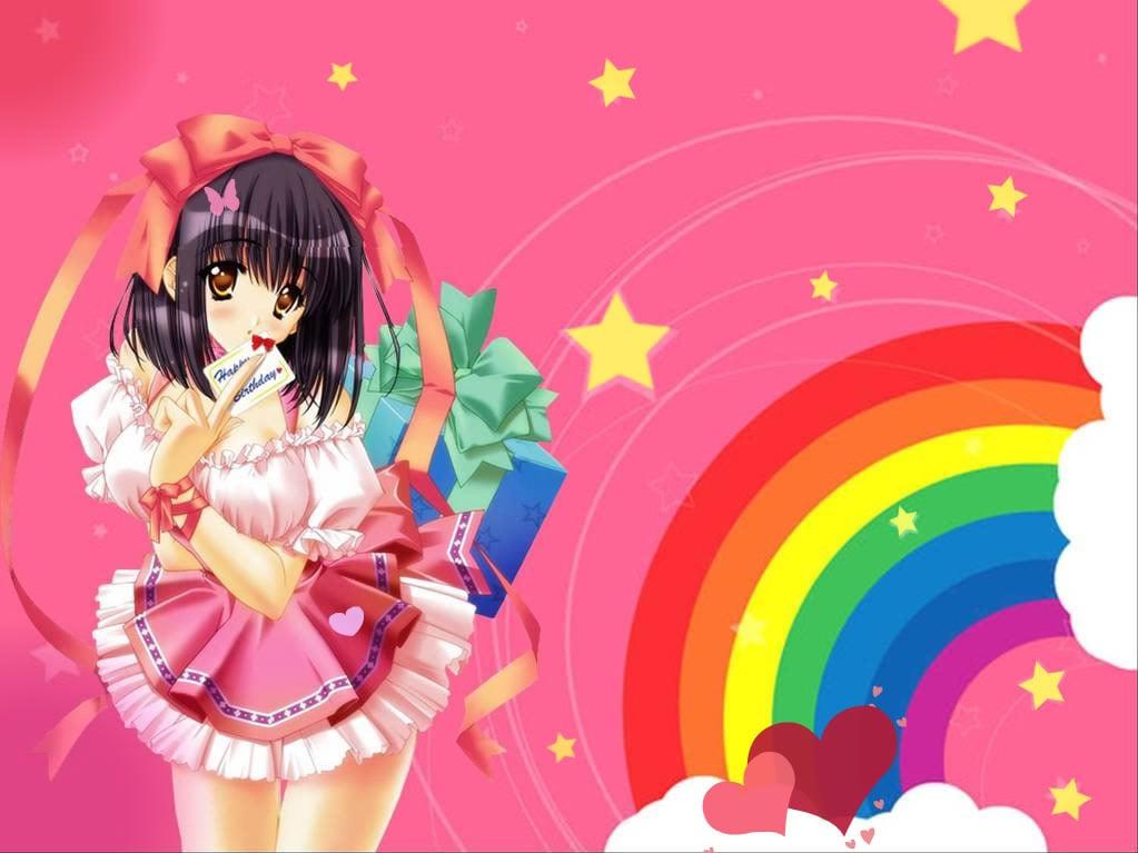 Anime Cute Wallpaper Anime Cute Desktop Background 1023x767